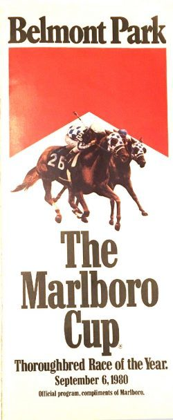 Marlboro Cup program