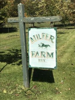Milfer Farm sign